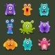 Monsters Illustration - GraphicRiver Item for Sale