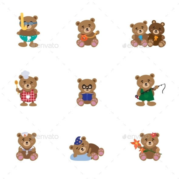 GraphicRiver Bears 11079677