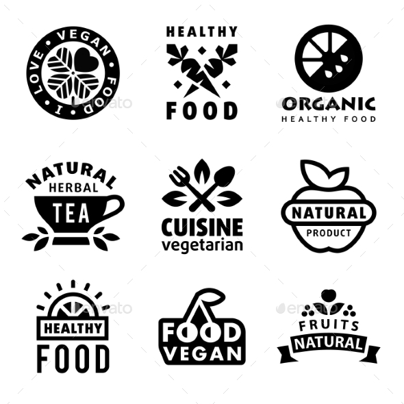 GraphicRiver Fresh Organic Labels and Elements 11079701