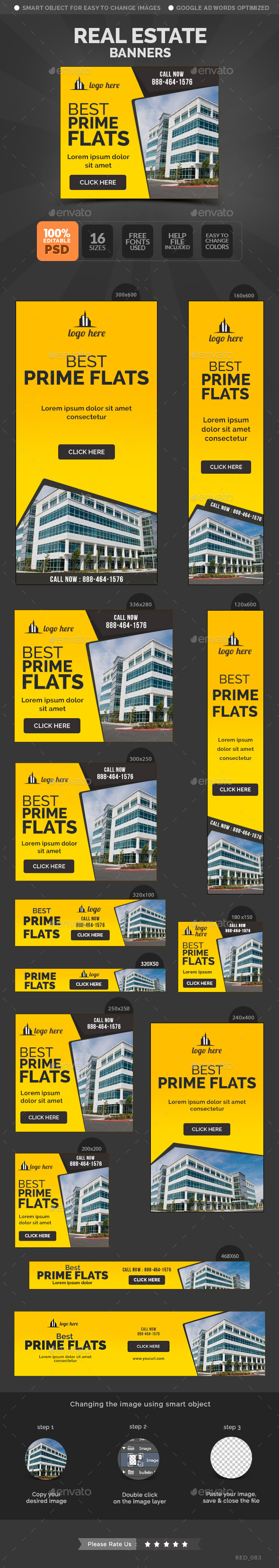 GraphicRiver Real Estate Banners 11081141