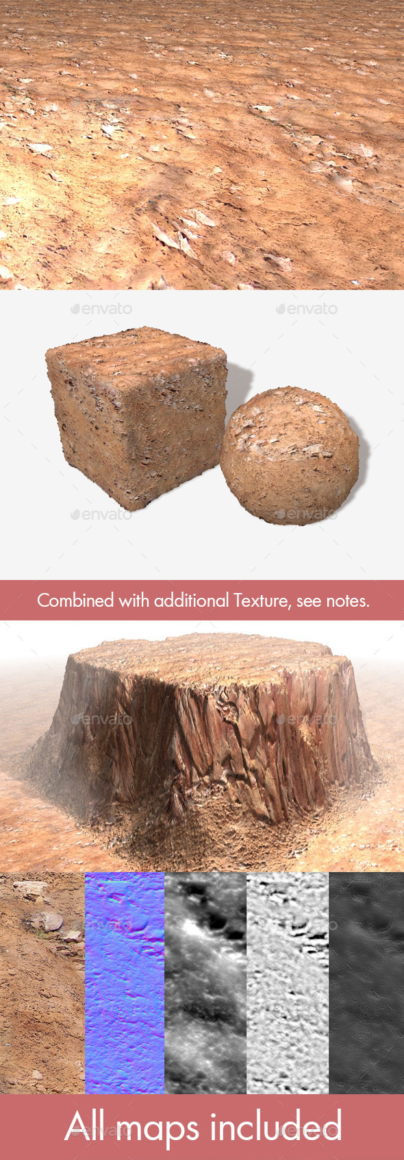 3DOcean Canyon Floor Seamless Texture 11081555