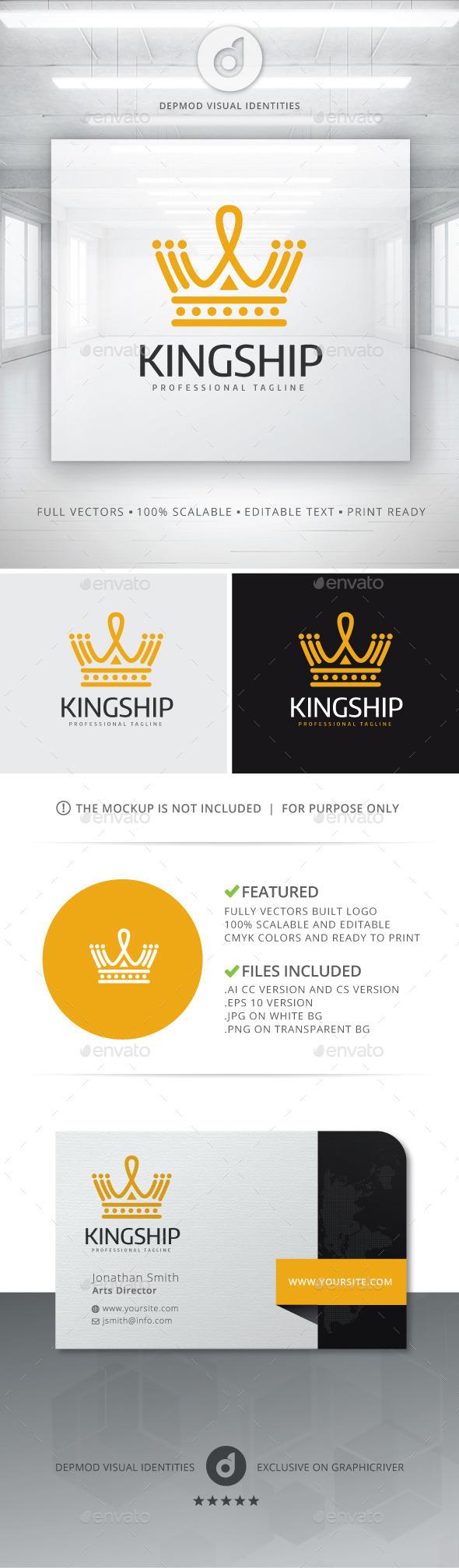 GraphicRiver Kingship Logo 11081601