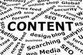 Content Paper Words Concept - PhotoDune Item for Sale