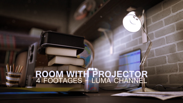 Old Room With Projector