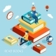 Reading Books - GraphicRiver Item for Sale