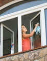 maid cleaning windows - PhotoDune Item for Sale