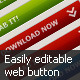 Easily Editable Web Button - GraphicRiver Item for Sale