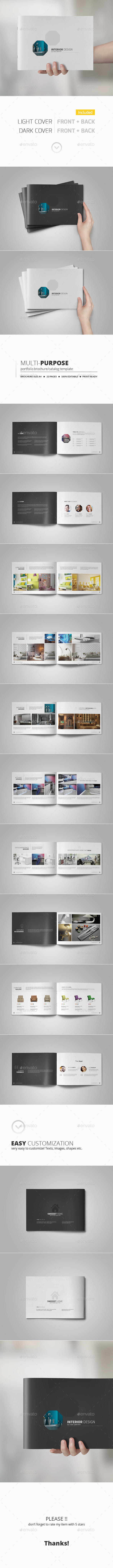 GraphicRiver Portfolio Brochure Template 11083858