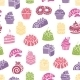 Cakes and Sweets Seamless Pattern - GraphicRiver Item for Sale