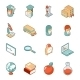Education and School Isometric 3d Icons - GraphicRiver Item for Sale