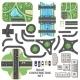 Road Construction Set - GraphicRiver Item for Sale