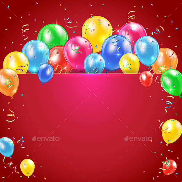GraphicRiver Balloons 11084167