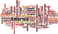 Countries in America Word Cloud Concept - PhotoDune Item for Sale