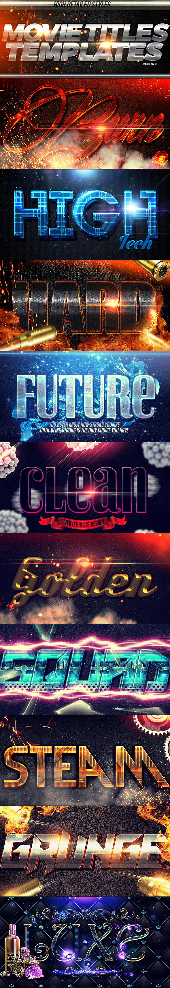 GraphicRiver Movie Titles PSD Template 2 11084569