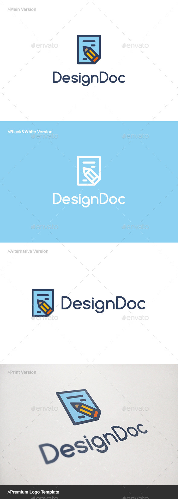 GraphicRiver Design Doc Logo 11084787