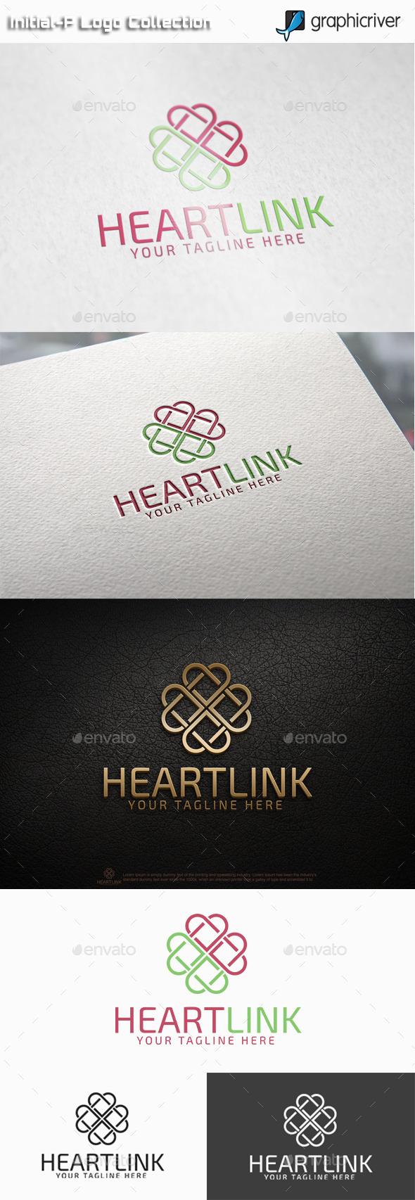GraphicRiver Heart Link Logo 11085608