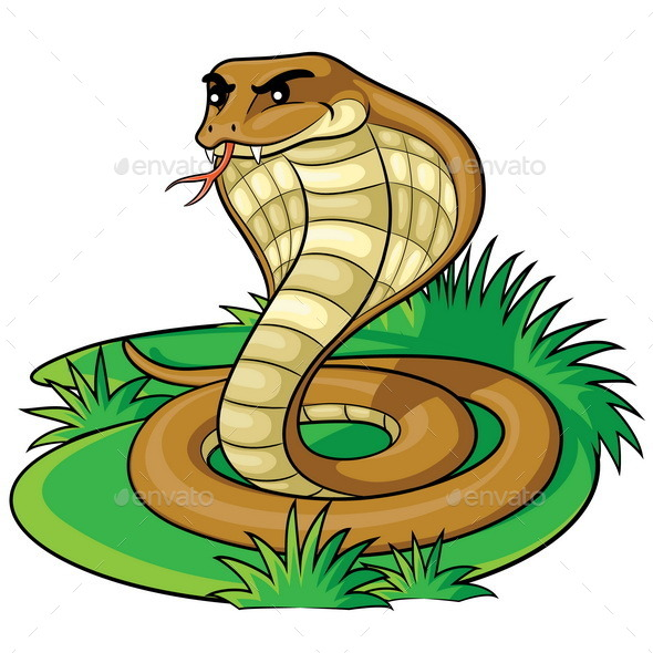 GraphicRiver Cobra Cartoon 11085691
