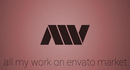 My work on Envato market