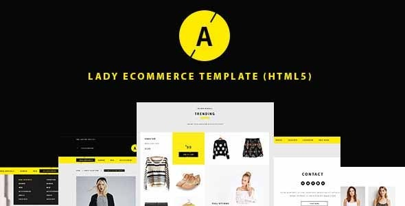 ThemeForest Lady e-Commerce Shop Responsive Site Template 11085821