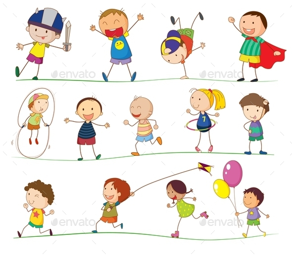 GraphicRiver Simple Kids 11085953