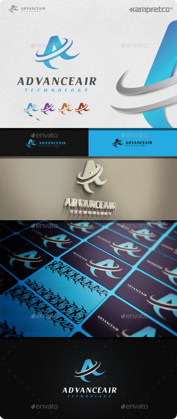 GraphicRiver Advance Logo 11045553