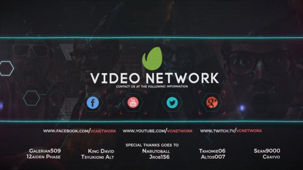 AE模板:任天堂动作游戏 未来数字科技 网络视频游戏设计 电视栏目包装片头模板