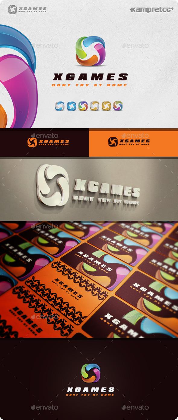 GraphicRiver Letter X Logo 11045550