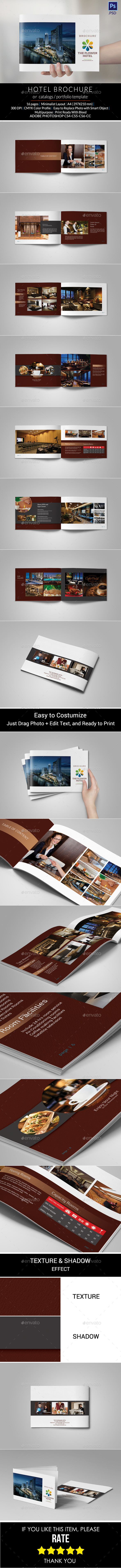 GraphicRiver Hotel Brochure 11086088