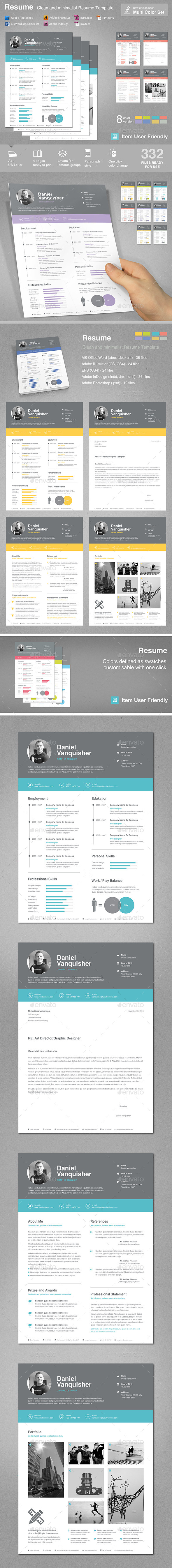GraphicRiver Resume 11042365