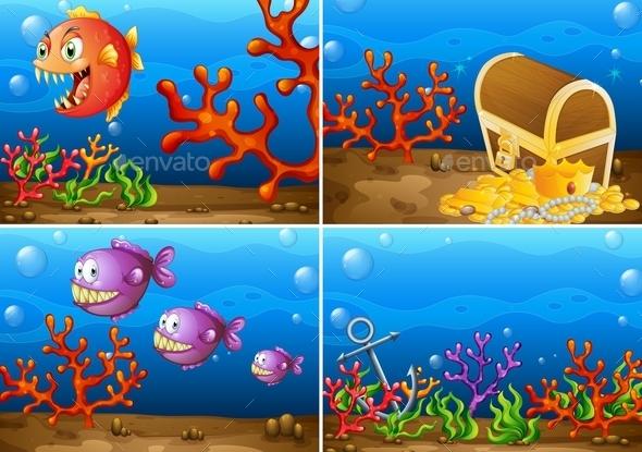 GraphicRiver Underwater 11086628
