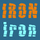 Iron Typeface - GraphicRiver Item for Sale