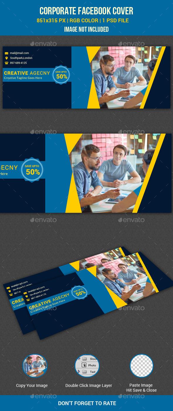 GraphicRiver Corporate Facebook Cover 11086648