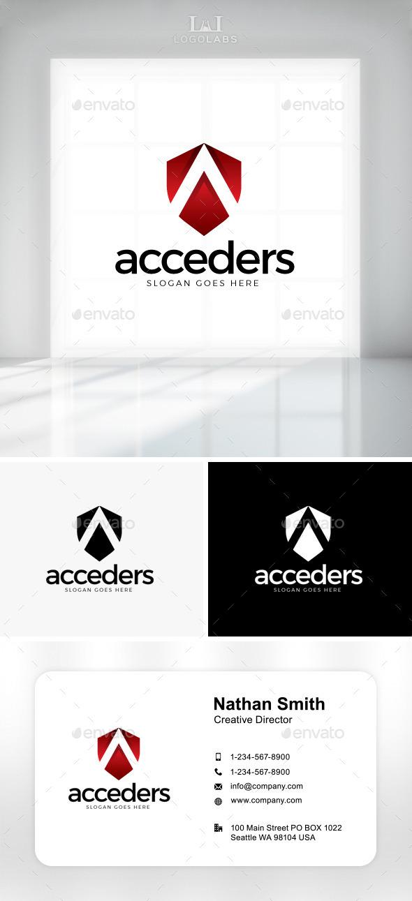 GraphicRiver Acceder Letter A Logo 11086913