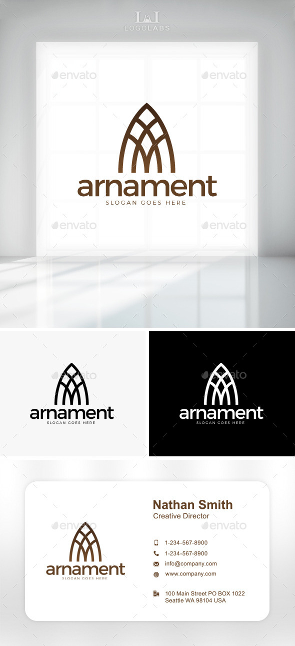 GraphicRiver Arnament Classy Letter A Logo 11086993
