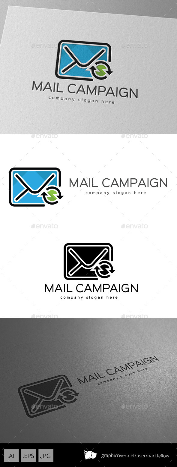 GraphicRiver Mail Campaign Manager Logo Design 11087243