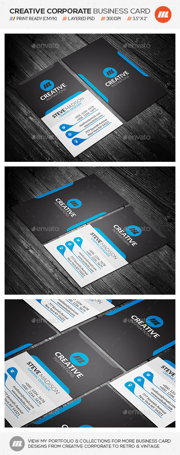 GraphicRiver Creative Corporate Business Card 11087273