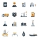 Oil Industry Flat Icon - GraphicRiver Item for Sale