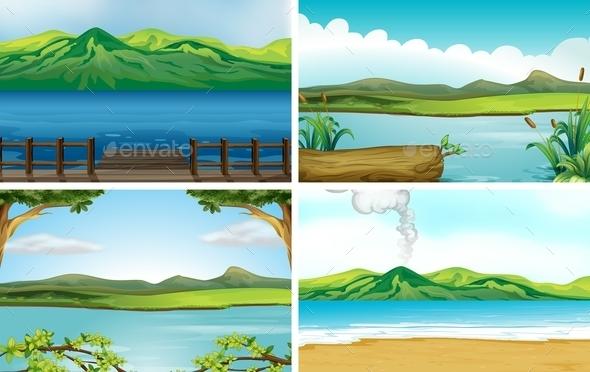 GraphicRiver Lakes 11087667