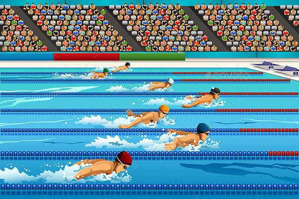 GraphicRiver Swimming Competition 11087736