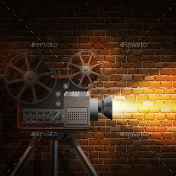 GraphicRiver Retro Film Background 11087738