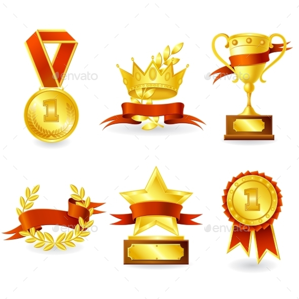 GraphicRiver Trophy and Prize Emblem 11087762