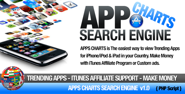 CodeCanyon Apps Charts iTunes Search Engine 11087770