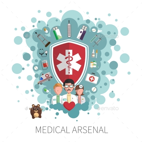 GraphicRiver Medicine Healthcare Services Concept 11087768