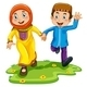 Muslim Boy and Girl - GraphicRiver Item for Sale