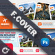 Travel Tour Cover Templates - GraphicRiver Item for Sale