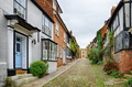Cobbled street in the English town of Rye - PhotoDune Item for Sale