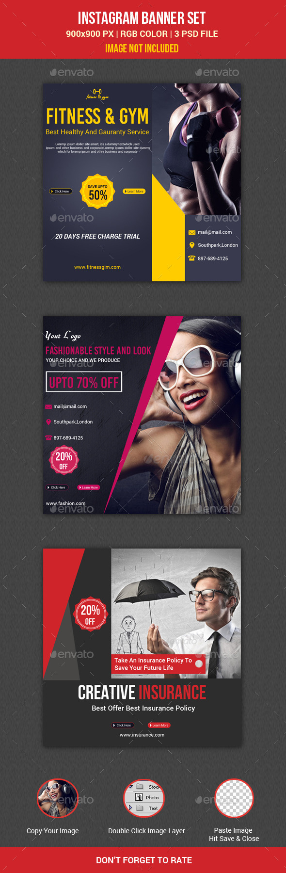 GraphicRiver Instagram Banner 11087861