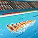 Synchronized Swimming Competition - GraphicRiver Item for Sale