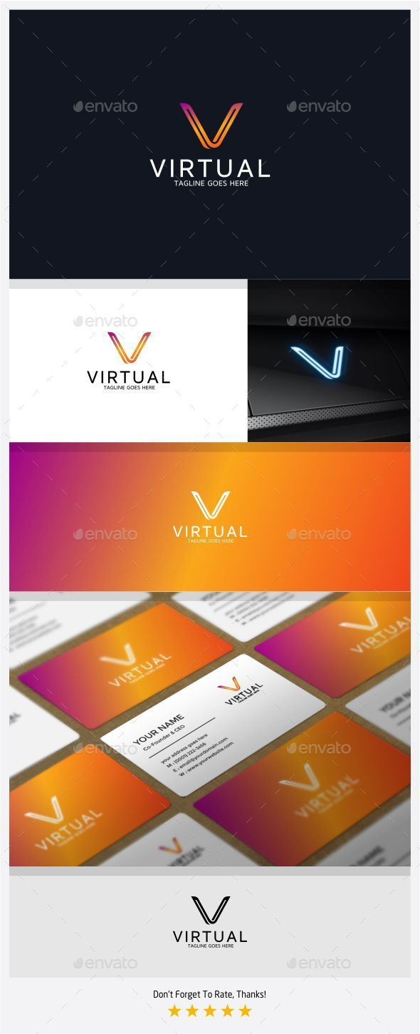 GraphicRiver Virtual Logo 11087878