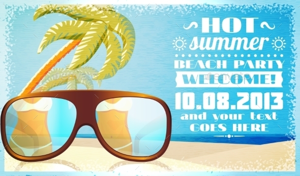 GraphicRiver Summer Beach 11087889